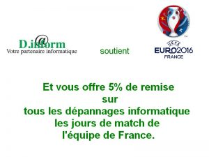 Offre euro 2016